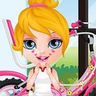 Baby Barbie Bicycle Ride