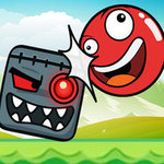 Ball Hero Adventure: Red Bounce Ball
